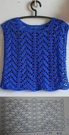Best 5 How To Read Chinese Crochet Patterns ideas bohemian crochet fashion charts Source: website zoodiacs horse cc crochet graph corner. Pull Crochet, Gilet Crochet, Crochet Blouse, Knit Crochet, Crochet Hats, Crochet Skirts, Crochet Clothes, Easy Crochet Patterns, Crochet Stitches