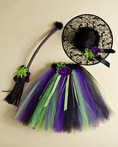 cute tutu witch costume