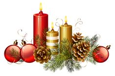Christmas Candles PNG Clipart Image   Gallery Yopriceville - High-Quality Images and Transparent PNG Free Clipart
