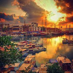 Kyrenia Harbour #kyrenia #cyprus