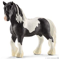 Schleich - Tinker Stallion Horse Breeds, Bryer Horses, Horse Barns, Chubby Puppies, Horse Gifts, Horse Artwork, Bull Riding, Horses For Sale, Horse Jewelry