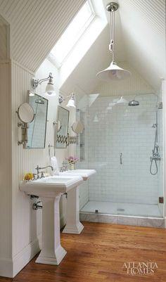 uniqueshomedesign:  attic bathroom charisma design