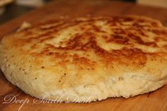 Old Fashioned Biscuit Bread; Some southerners call this skillet biscuit a hoecake