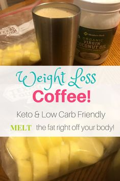 This weight loss coffee is amazing! You might have also heard this called butter coffee, bulletproof coffee, keto coffee, etc. The goal of the Keto diet