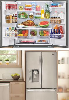 #LGLimitlessDesign #Contest Spend less time grocery shopping and more time enjoying meals. This LG refrigerator has Smart Cooling Plus technology that keeps fresh food longer. Bring innovation to your kitchen like never before!