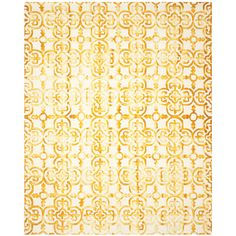 Found it at AllModern - Kinzer Hand-Tufted Ivory/Gold Area Rug