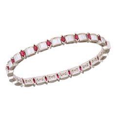 Kurt Wayne Ruby Diamond Bracelet