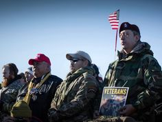 Veterans Return To Standing Rock To Act As Human Shields Against Police | The Galactic Free Press