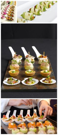 Canapes for your cocktail party