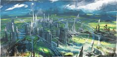 ArtStation - Tomorrowland movie Architectural Research, David Levy