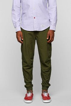 Green & Olive Pants - mens style