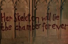"""Oh no! Ginny Weasley has been taken into the Chamber of Secrets. 