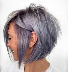18 stylish bob haircuts ideas youll love each one page 5 of 18 hairstyle zone x bobhaircut shortbobhairstyles 10 casual medium bob hair cuts female bob hairstyles Bob Style Haircuts, Stacked Haircuts, Bob Haircuts For Women, Short Bob Hairstyles, Cool Hairstyles, Hairstyle Ideas, Hair Ideas, Wedding Hairstyles, Hairstyles 2016