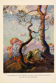 N.C. Wyeth. Ill. for Rip Van Winkle