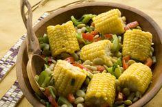 Native Foods & Recipes - My list of simple and healthy recipes Corn Succotash, Succotash Recipe, American Dishes, American Food, Native American Recipes, American Country, American History, Korma, Food Styling