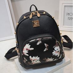 Women Backpack 2015 Leather Backpacks For Teenage Girls Shoulder School Bags For Teenage Girls Vintage School Backpack Bag