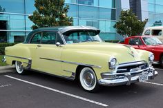 1954 Chrysler Coupe | At Auckland , NZ .Beep beep..Re-pin brought to you by agents of #Carinsurance at #Houseofinsurance in #Eugene/Springfield OR.