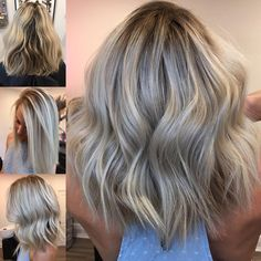 "2,073 Likes, 9 Comments - Hottes Hair Design (@jamiehottes_hair) on Instagram: ""Cool Blonde Balayage  @jamiehottes_hair #behindthechair #olaplex #babylights #balayagehair…"""