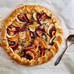 Roasted Vegetable Galette | ifoodblogger.com