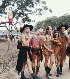 Festival Fashion At Splendour In The Grass