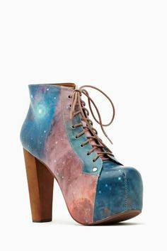 SO WANT!! Please come back in stock!  Jeffrey Campbell Lita Platform Boot - Cosmic
