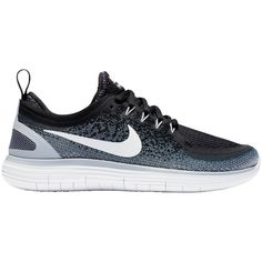 Nike Free RN Distance 2 Women's Running Shoes ($145) ❤ liked on Polyvore featuring shoes, athletic shoes, breathable shoes, pointy shoes, mesh shoes, mesh running shoes and stretch shoes
