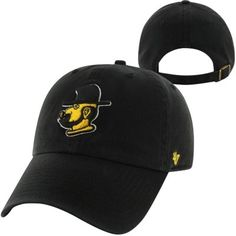 6983ccd439f5e  47 Brand Appalachian State Mountaineers Throwback Clean Up Adjustable Hat  - Black