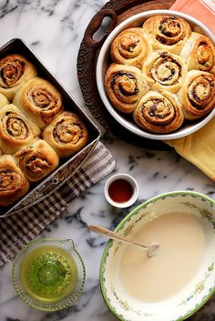 Kick your cinnamon rolls up a notch with dark chocolate, pistachios and orange.