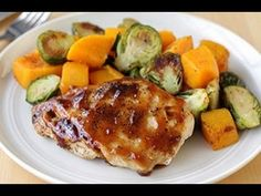 Food Network Recipes-How To Prepare Apricot Glazed Chicken