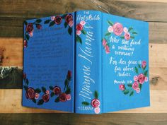 Hand Painted Bible by Hosanna Revival. A custom Bible would make a great Christian Gift for Mother's Day! Bible Journalling is a fun way to connect with the word through your creativity.