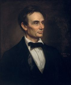 William Corcoran acquired for his gallery a large series of presidential portraits by G.P.A. Healy, including this 1860 rendition of my one my favorite paintings.