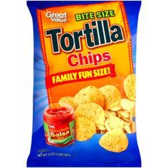 Great Value Bite Size Tortilla Chips, 32 oz FREE FAST SHIPPING! #GreatValue