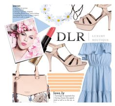 """""""DLR -Luxury Boutique"""" by ninakistyles ❤ liked on Polyvore featuring Yves Saint Laurent, Fiorelli, Bobbi Brown Cosmetics and dlrboutique"""