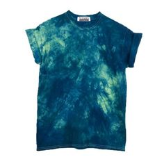 Psycadelic Blue Tie Dye T-Shirt, Gift for Ocean Lover, Unique Hand Made Gift, Pantone Greenery Dyed Tshirt, Blue Festival Mens TieDye Shirt