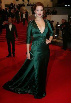 Stylefluid Trendz: Day 4 : Lea Seydoux in Prada : Quality Check Please!!! :Cannes 2014:Red Carpet