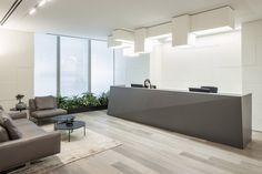 Electra Offices, Amot Atrium Tower,  Ramat Gan ,  Lighting designer: Orly Avron Alkabes ,  Architecture: Liora Niv Fromchenko ,  Photography: Amit Geron