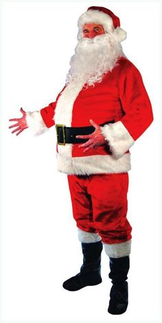 0c82c5cb8f34 Costumes for All Occasions Mr148122 Santa Suit Adult Costume Xx-large for  sale online