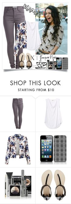 """""""Sem título #419"""" by giovannacarlamalik ❤ liked on Polyvore featuring Pieces, Rebecca Taylor, LORAC and 2b bebe"""