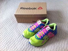@Reebok ONE Cushlon running shoes. Bright colors!