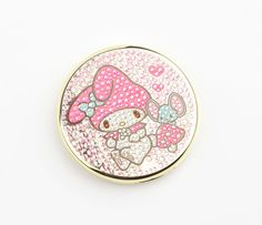 My Melody Compact Mirror: Sparkle