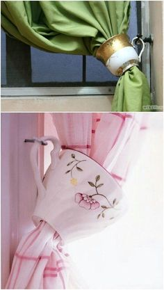 25 Creative And Beautiful Ways To Decorate Your Home With #Upcycled #Teacups #Creativedecor