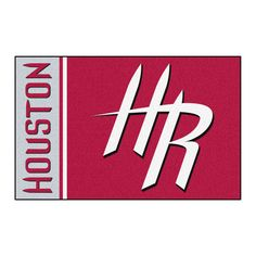 Houston Rockets Team Logo Accent Rug
