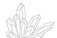 how to draw a crystal - Google Search