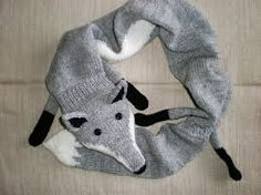 Free Knitted Fox Scarf Patterns Images