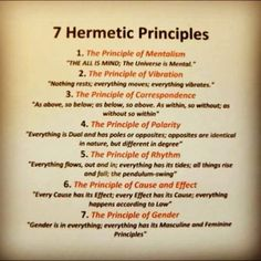 7 hermetic principles - World Religions by Mind&Soul Society Reiki, Meditation, E Mc2, Spiritual Awakening, Chakras, Magick, Wiccan, Knowledge, Mindfulness