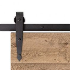 "<p>The Arrow Barn Door Hardware is designed to create a transitional rustic feel that fits perfect with any home decor. Hand-forged in the United States, the wheels offer a smooth roll and quality durability increasing load bearing capabilities.</p> <p>Clearance needed above top of door: 5 1/2"" Weight limit is 400lbs.</p> <p>FREE Shipping</p> <p><div class=""manual-download""><a href=""https:&#..."