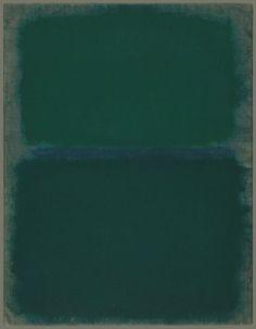 Mark Rothko - Abstract Art - Untitled, 1967
