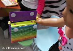 How to make a doll sized Messenger bag