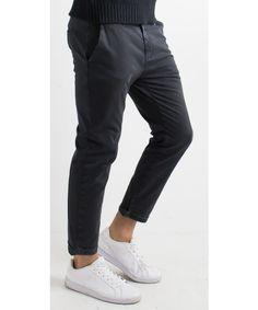 Pantalone classico in cotone dalla vestibilità slim  Ex-J