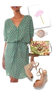 """dress"" by masayuki4499 ❤ liked on Polyvore featuring NOVICA, Schutz, Patricia Nash and Olivia Burton"